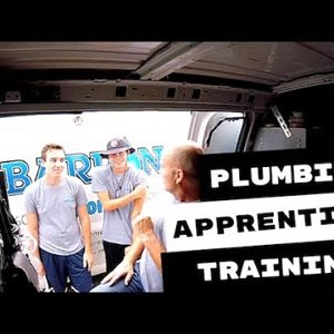 Inspiring Plumbing Apprentices On The Job Training